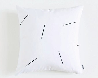 minimalist decormodern pillow coverwhite pillowblack and white pillow modern - White Decorative Pillows