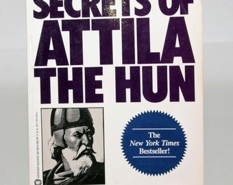 Leadership Secrets of Attila The Hun, Wess Roberts, Ph.D., New York Times bestseller, paperback, management, leadership, business