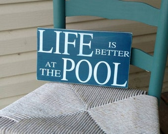 Pool Sign, pool rules, Wooden wall art, Hand Painted, Home Decor, Outdoor sign, outdoor funny sign, perfect gift, outdoor decor, patio sign
