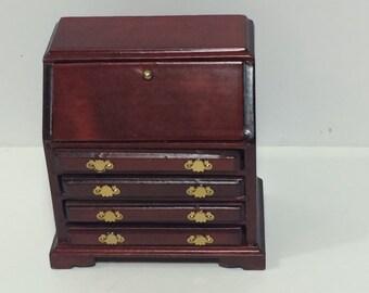 1:12 Scale Dollhouse Miniature Furniture - Writing Desk