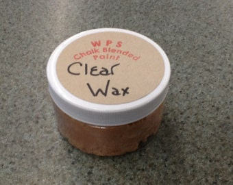 WPS Clear Furniture Wax for Chalk Paint - 4 oz