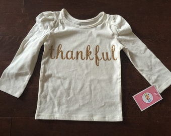 Thankful shirt for the holidays!
