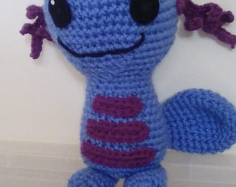Wooper Inspired Plush Toy