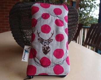Glasses case Quilted