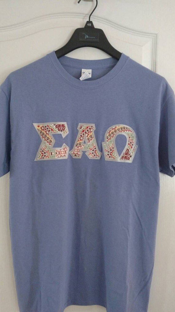 greek letter shirts custom sleeve letter shirt 1269