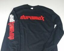 Long-sleeved DuramaxGear t-shirt Duramax
