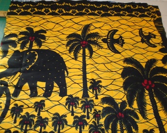 Sale end of bolt - African Print