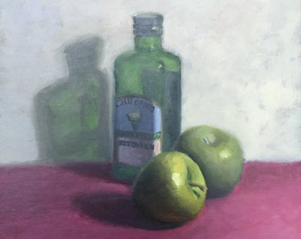 Green apples and Olive Oil