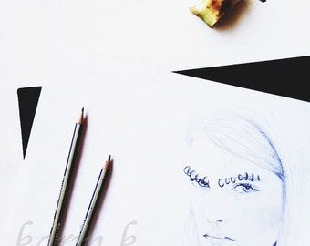 Illustration Kia Low at Rodarte 2014