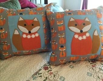 Foxy Fox Pillows