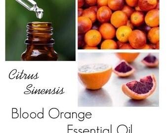 Blood Orange Essential Oil,Blood Orange Oil, Orange Blood Essential Oil, --- 100% Pure Authentic Blood Orange EO