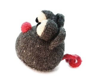 Knitting Pattern Henry the Mouse Pdf INSTANT DOWNLOAD