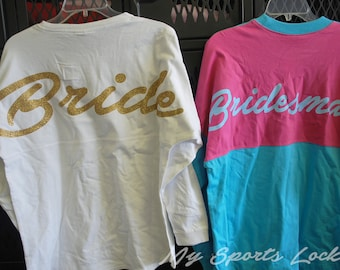 Bridal Party Spirit Shirts