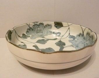 Nakagama Japan, Blue & Gray Bowl