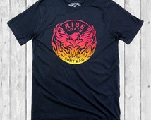 Westcoastees Adult Unisex Rise Again Fort Mac t-shirt