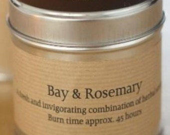 St Eval Bay & Rosemary Candle Tin