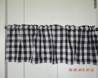 Buffalo check curtains – Etsy