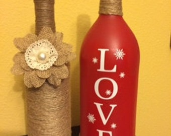 Decorative Wine Bottles