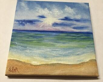 Miniature #9 - A Seagreen Sea