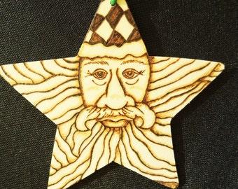 Norse Santa Ornament
