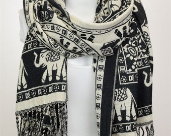 Classic Elephant Scarf, Fall Fashion, Fall Scarves