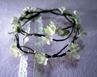 Woodland Wedding Double Flower Crown
