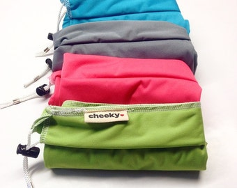 Everyday PUL large wet bag with drawsrting. Single