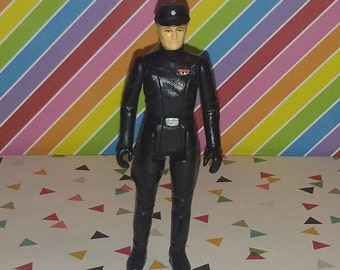 Vintage 1980 Kenner Star Wars Imperial Commander Figure Complete