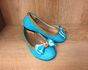 Princess Jasmine Shoes    Adult/Child    Made to Order