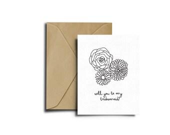 Rose Print, Rose Card, Greeting Card, Wedding Card, Rose Art, Rose Flower Card, Flower Card, Illustration Download, Wedding Card