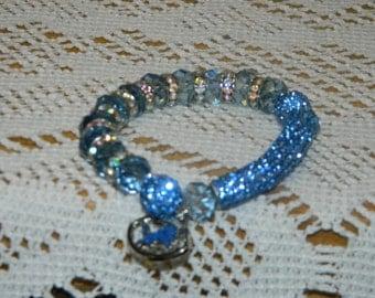 Detroit Lions Crystal Bracelet