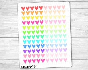 D002 | Heart Stickers