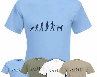 Evolution To Weimaraner t-shirt Funny Dog T-shirt in sizes Sm to 2XXL