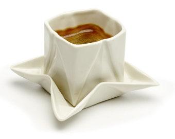 Origami espresso cup