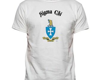Sigma Chi Vintage Crest T-shirt