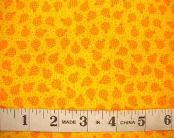 1 YD - My Lil' Lady - Yellow w/ Lady Bugs by Exclusively Quliters