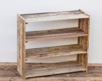 Large Shoe Rack - Pallet Wood Furniture