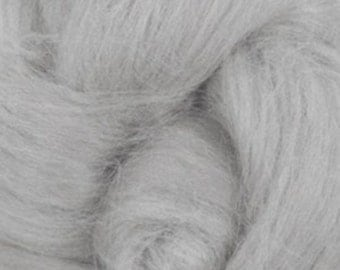 Tussah Silk Top One Ounce Color Cloud For Felting or Spinning