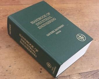 Handbook of Industrial Engineering Edited by Gavriel Salvendy ~ Hardback Hardcover
