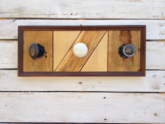 Organizador De Baño Reciclado: de madera arte, regalo de inauguración de la casa, organizador de la