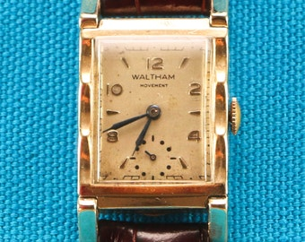 Waltham Premier Scalloped Vintage Watch