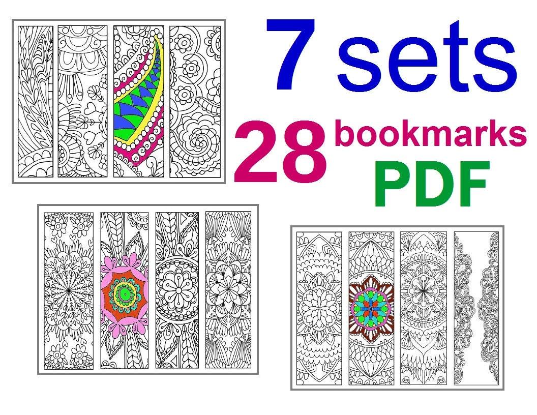 Enterprising image in printable bookmarks pdf