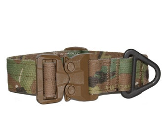 GT COBRA V-Ring Tactical Dog Collar, 100% Made in America by Rogue K9