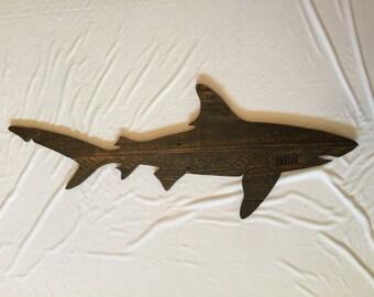 Custom shark cutout, shark, nautical, home decor