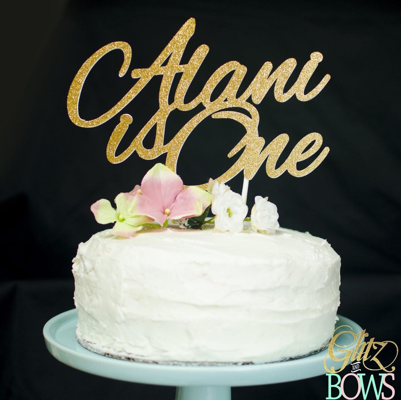Custom Name Cake Topper Personalized Cake topper e cake