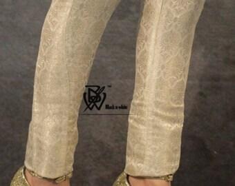 Jamawar Cigarette Pants