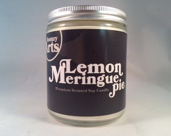 Lemon Meringue Pie Candle