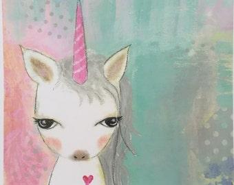 Unicorn Baby Print