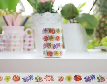 Washi Tape Floral WTF-27