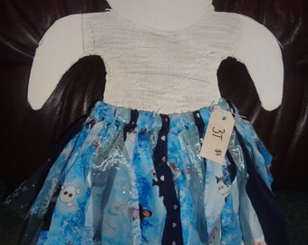Frozen Fabric Tutu